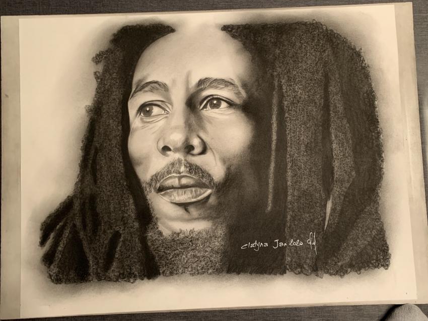 Bob Marley por clatyna